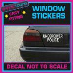 UNDERCOVER COP POLICE FUNNY CAR WINDOW VINYL STICKER DECAL GRAPHICS